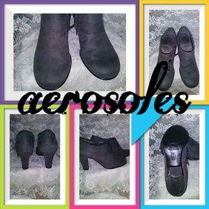 Aerosoles Gray Ankle Bootie